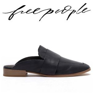 NEW Free People • At Ease Loafer Mule